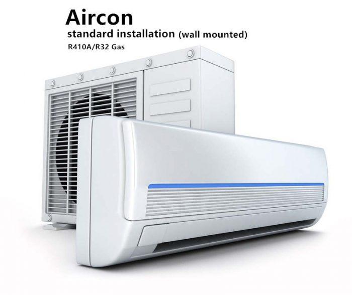 Professional Standard Aircon Installation Service R410a  R32  U2013 Goodycond